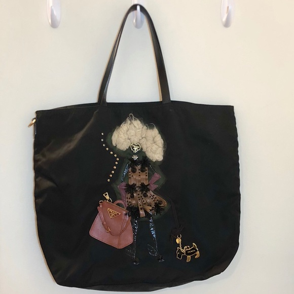 17f3d4c5ccb2bd Authentic Prada Doll Tote Bag. M_5b749fb634e48aff6c304de1